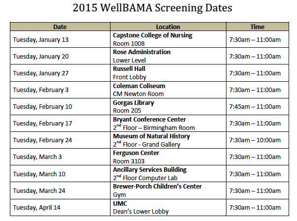 Spring 2015 WB dates 1.9.15