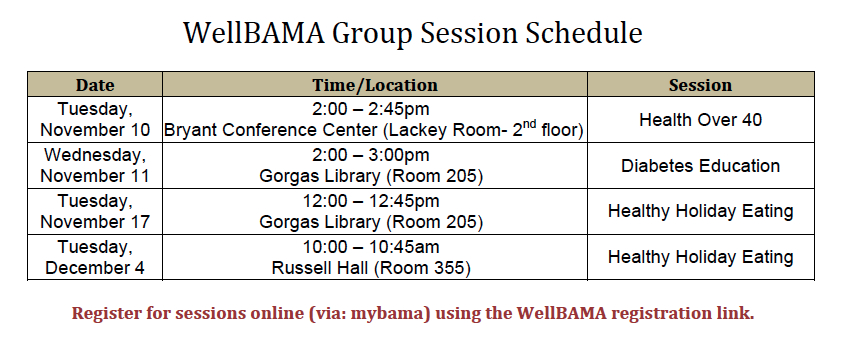 2015 Remaining WB Group Sessions