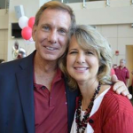 David with his wife, Elizabeth